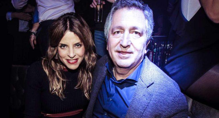 Jorge Vergara en la inauguración de 'La Santa'