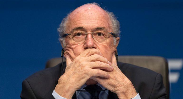 Joseph Blatter est? hospitalizado