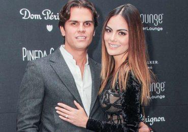 Juan Carlos Valladares consiente a Ximena Navarrete en su cumpleaños