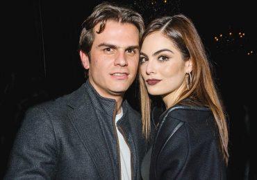 Juan Carlos Valladares y Ximena Navarrete en la exclusiva fiesta de Maestro Dobel-Telcel