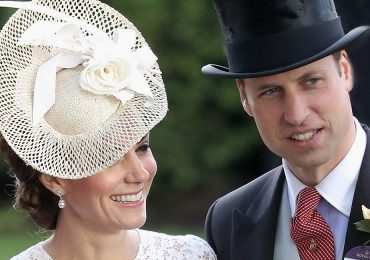 Kate Middleton y el príncipe Guillermo en Royal Ascot