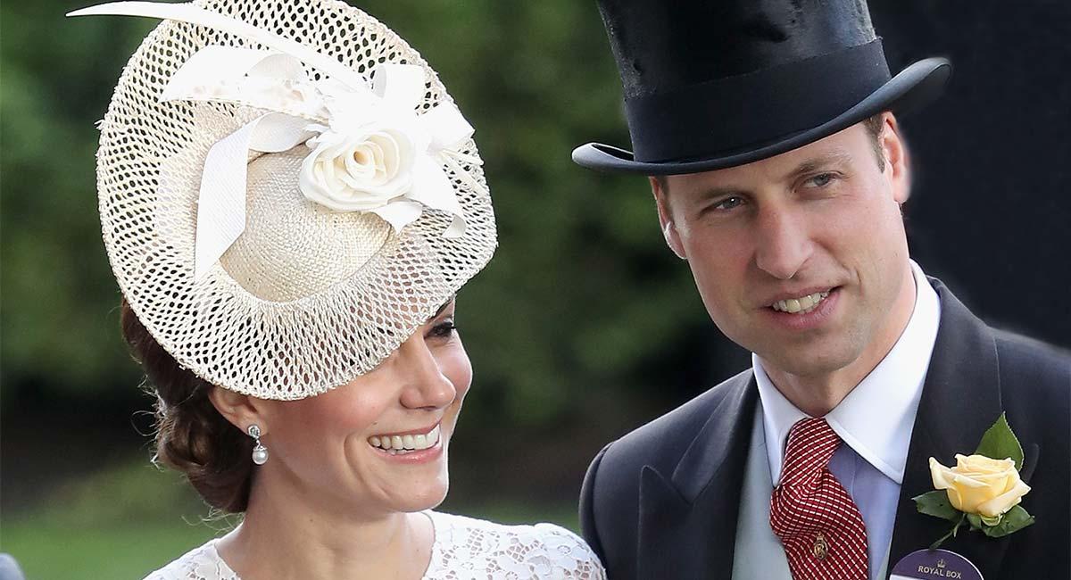 Kate Middleton y el príncipe Guillermo en Royal Ascot
