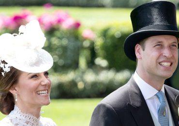 Kate Middleton y el príncipe William en el Royal Ascot