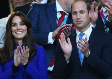 Kate y William apoyan al príncipe Harry en la inauguración de la Rugby World Cup