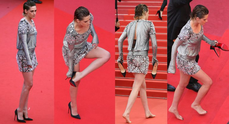Kristen Stewart contra las normas de etiqueta de Cannes
