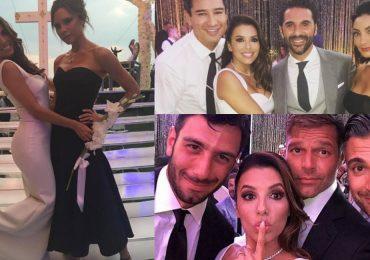 La boda de Pepe Bastón y Eva Longoria a través de Instagram