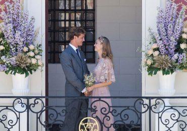 La boda de Pierre Casiraghi y Beatrice Borromeo