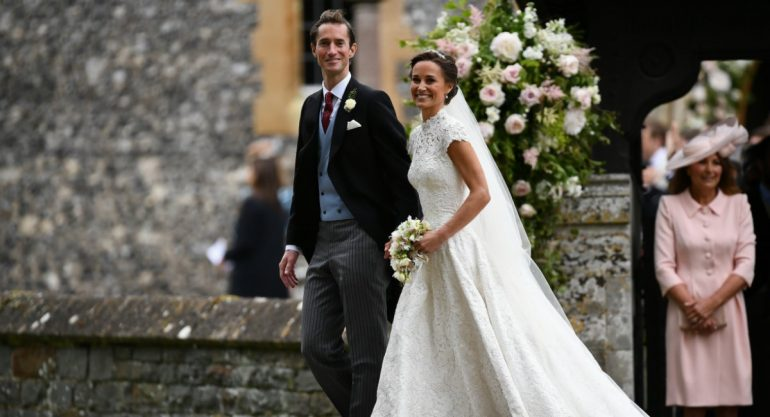 La boda de Pippa Middleton y James Matthews en fotos