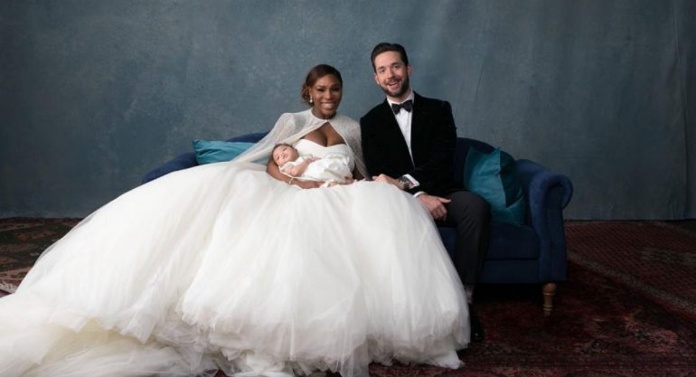 La boda de ensueño de Serena Williams y Alexis Ohanian