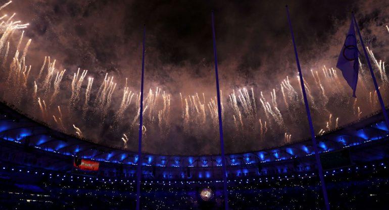 La ceremonia de clausura de los Juegos Olímpicos