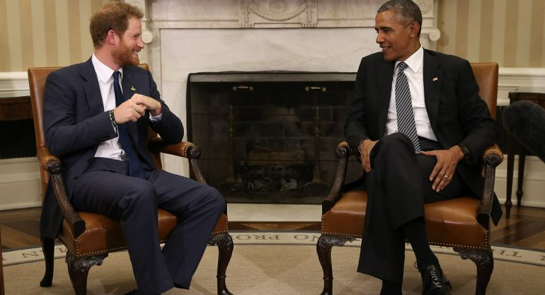 La divertida visita del príncipe Harry a Estados Unidos