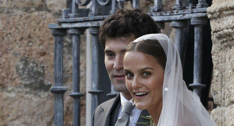 La elegante boda de Alejandro Santo Domingo y Lady Charlotte Wellesley