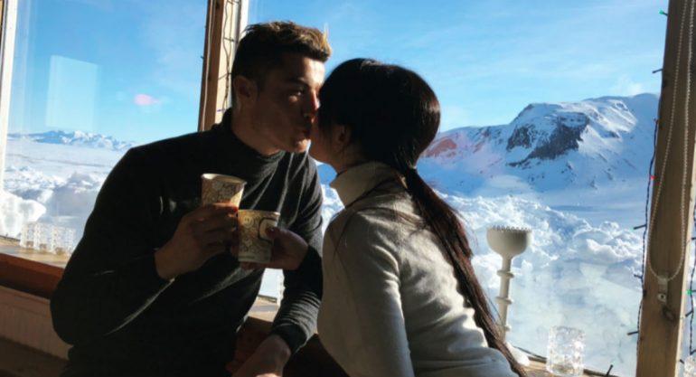 La escapada romántica de Cristiano Ronaldo y Georgina Rodríguez a la nieve