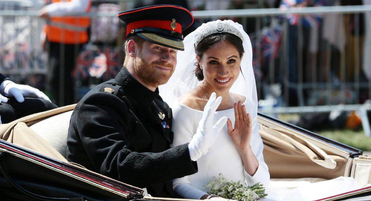 La espectacular tiara de Meghan Markle el día de su boda