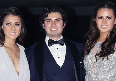 Paulina, Alejandro y Nicole