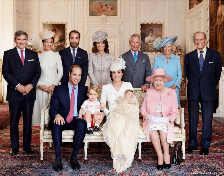 La fotos oficiales del bautizo de la princesa Charlotte