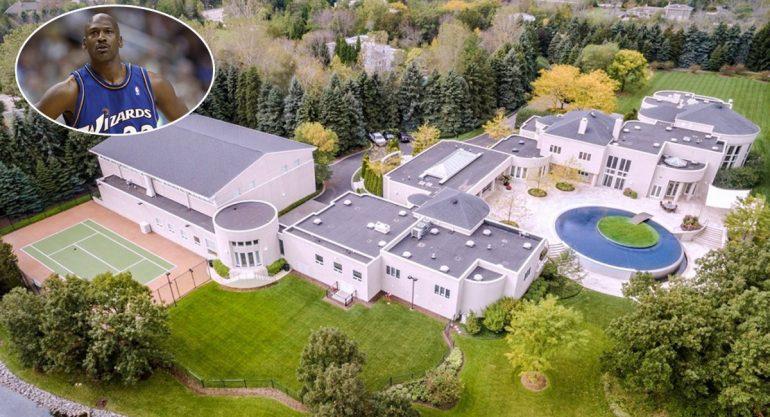 La lujosa mansión de Michael Jordan