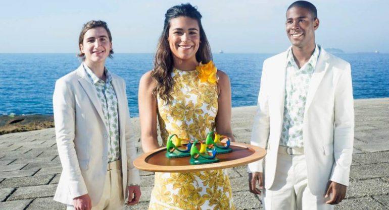 La moda de los presentadores de las medallas en #Río2016