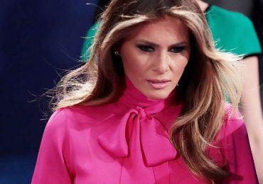 La polémica blusa de Melania Trump