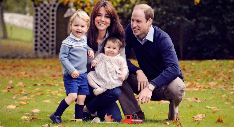 La postal Navideña de los Duques de Cambridge y sus hijos