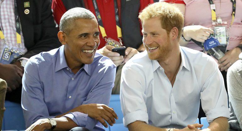 La pregunta de Obama a Harry sobre Meghan Markle