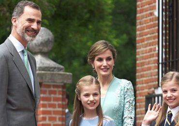 La primera comunión de la infanta Sofía