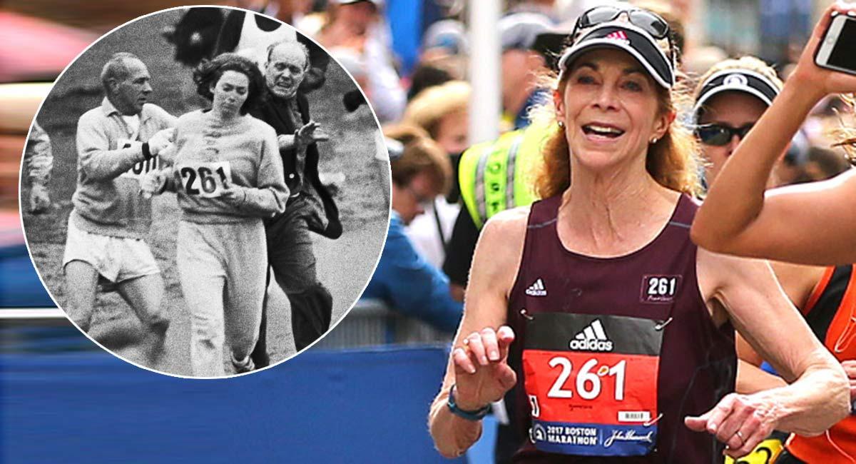 primera mujer en correr el maraton