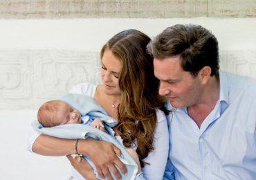 La princesa Magdalena de Suecia revela nuevas fotos de su bebé