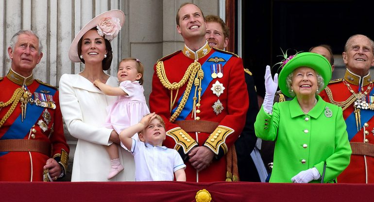 La reina Isabel y el regaño al príncipe Guillermo
