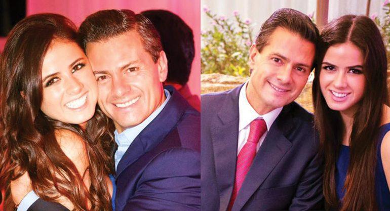 La tierna felicitación de Peña Nieto a su hija Nicole