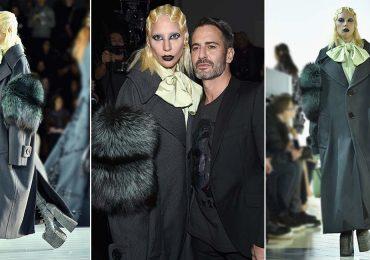 Lady Gaga desfila para Marc Jacobs en el cierre del Fashion Week NY