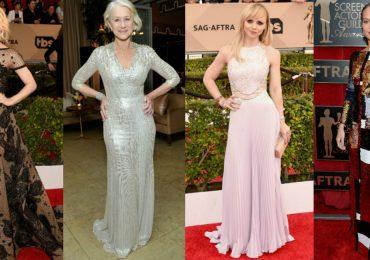 Las 10 Mejor Vestidas de los SAG Awards 2016