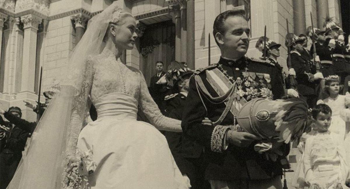 Las FOTOS nunca antes vistas de la boda de Grace Kelly y Raniero de Mónaco