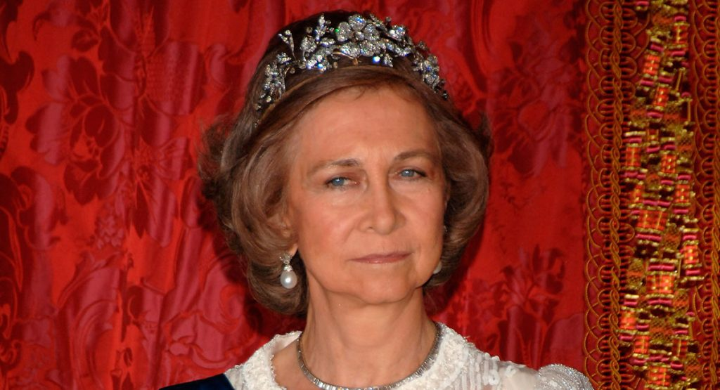 Las joyas y tiaras de la reina Sofía