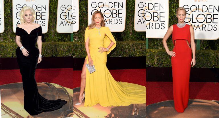 Las mejor vestidas de los Golden Globes 2016