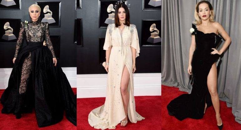 Las mejor vestidas de los Grammy 2018