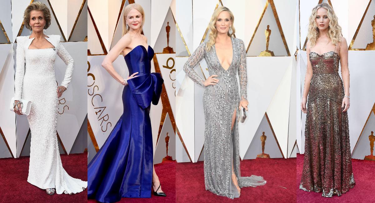 Las Mejor Vestidas De Los Oscar 2018 Revista Caras