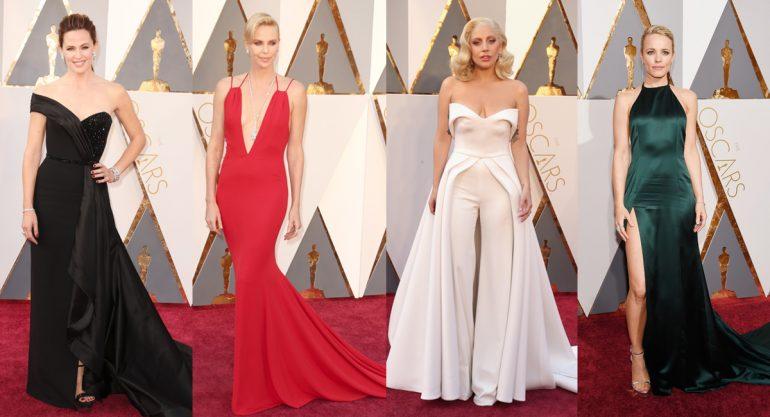 Las mejor vestidas de los Oscar Awards 2016