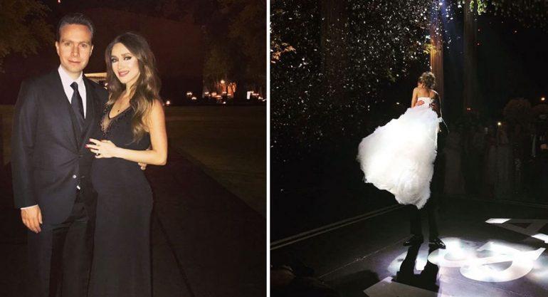 Las mejores fotos de la boda de Alejandro Valladares y Miriam Huber