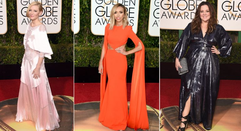 Las peor vestidas de los Golden Globes 2016