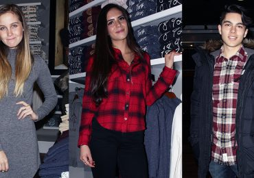 """Las """"teen stars"""" del momento apadrinan una tienda de ropa"""