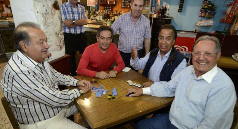 Las vacaciones de Carlos Slim en España