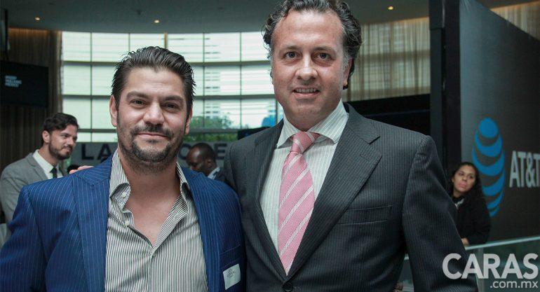 León Guerrero y Ernesto Zedillo Jr en el Foro Forbes
