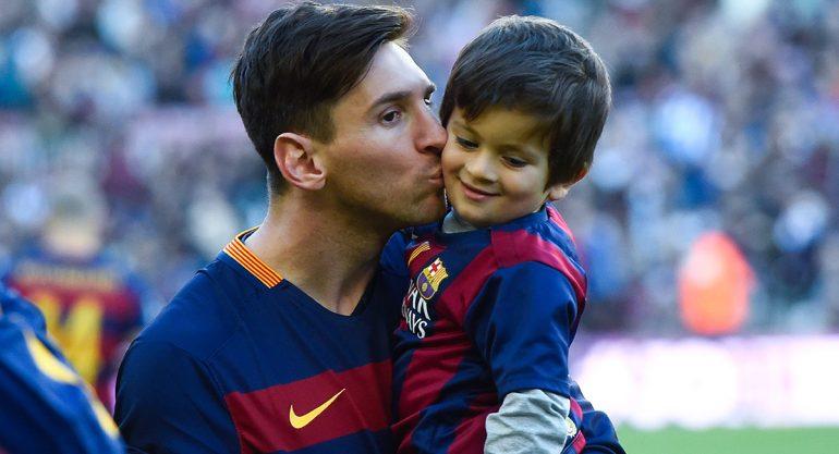 Leo Messi sus vacaciones junto a su famila