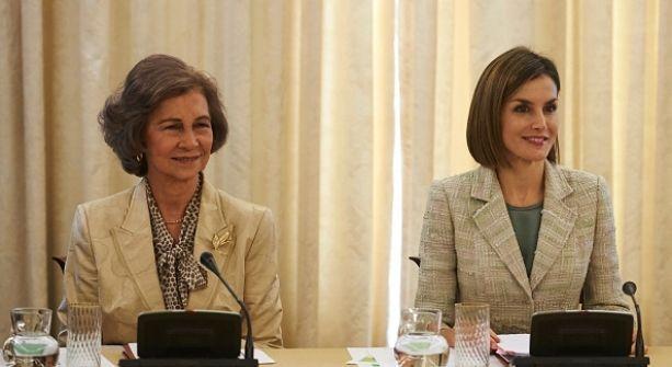 Letizia sustituye a Doña Sofía en la FAD