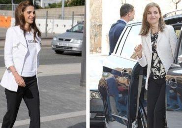 Letizia y Rania: las reinas `twins´ en estilo