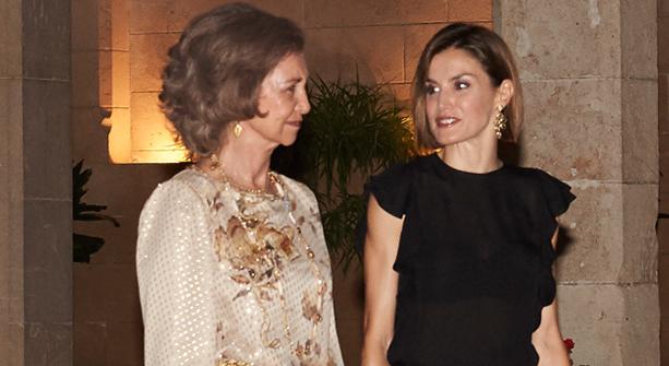 Letizia y Sofía
