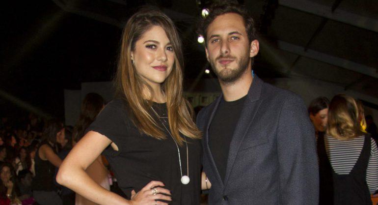 Lety Sahagún y Sebastián Zurita en el segundo día del Fashion Week México