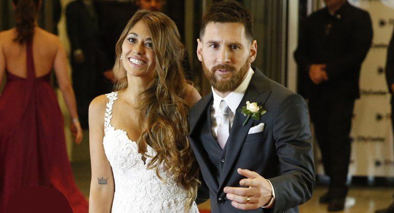Lionel Messi sabe bailar y lo demuestra en su boda