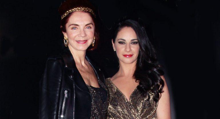 Lissette Trepaud y Paulina Madrazo en la fiesta de Oscar por el Oscar
